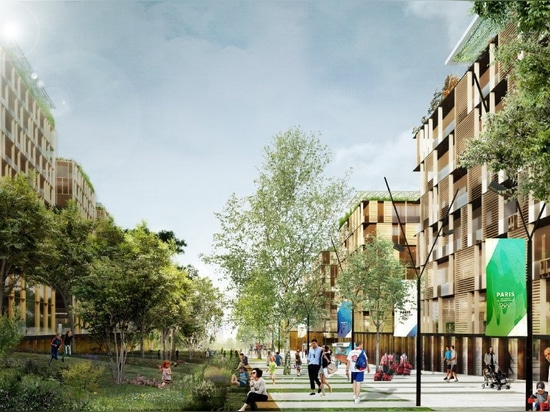 dominique perrault masterplans athletes' village for paris 2024 olympic games