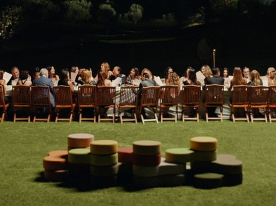 Tapa pouffes appeared in new Sorrentino's film