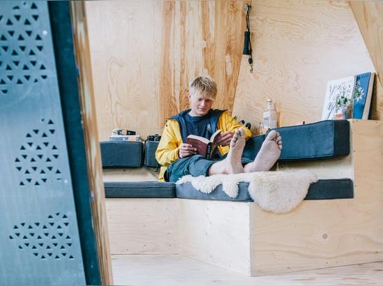 Kudhva Wilderness Cabin by New British Design