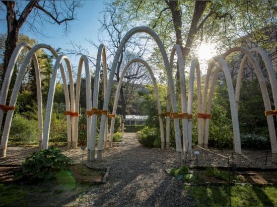 The Circular Garden by CRA-Carlo Ratti Associati for ENI