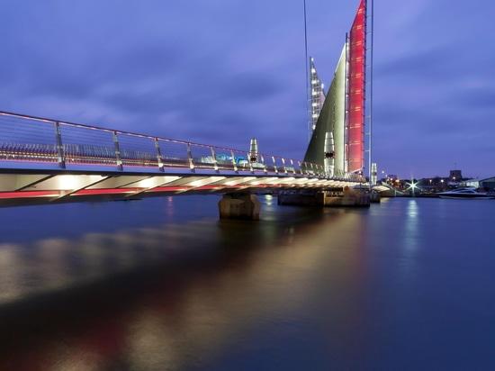 Twin Sails Bridge, Poole UK