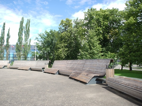 Area at 57 pavilion at VDNKh, Moscow