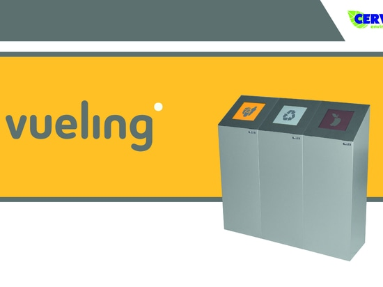 Vueling recycles with the Altea bin