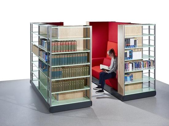 ZAMBELLI PAZIO - Room for books and readers.