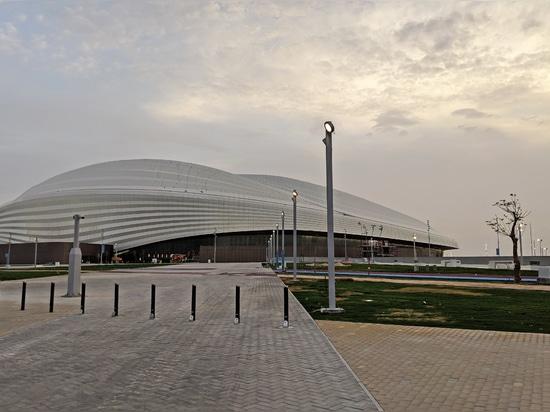 Salvi, the Spanish that illuminates the Al Wakrah Stadium for the Fifa world cup QatarTM 2022