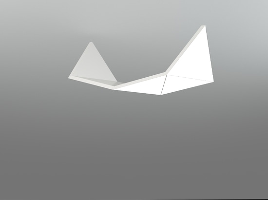 Origami Large Bird,by 6x triangles