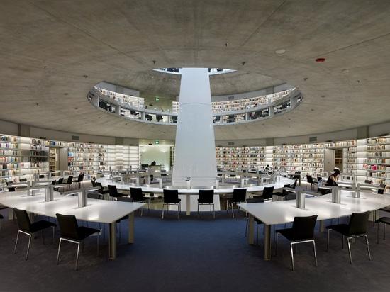 """Jean Nouvel completes """"earth-work"""" library at University of Cyprus"""
