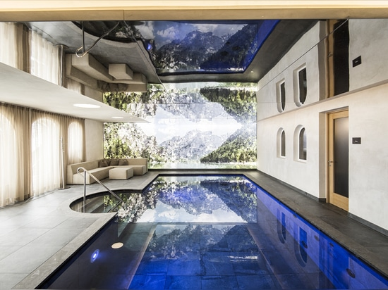 Hotel Hubertus: caught between the sky and the earth