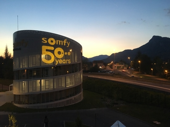 Divum for Somfy's 50th Anniversary
