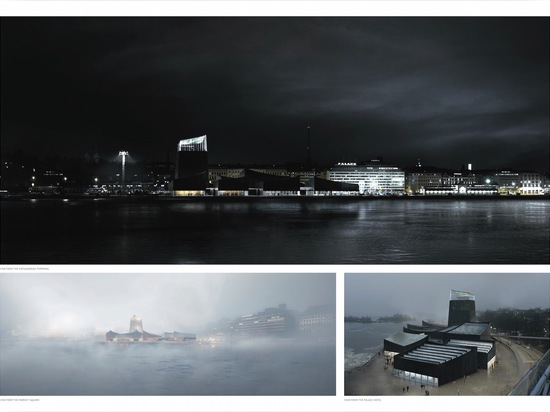 The museum will be located in Helsinki's South Harbor area.   Read more: Moreau Kusunoki Architectes' 'Art in the City' wins Guggenheim Helsinki Design Competition Guggenheim Helsinki by Moreau Kus...