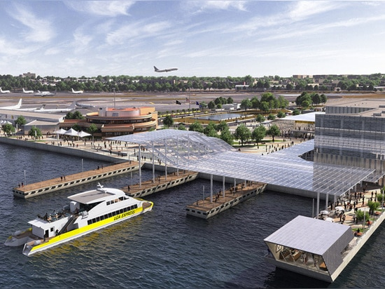 high speed passenger ferry service to the historical terminal will serve approximately a million passengers a year
