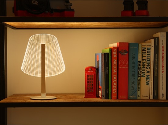 the lamps are at home in contemporary settings
