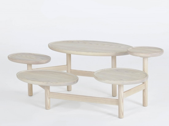 'valentine' table by yuan yuan studio