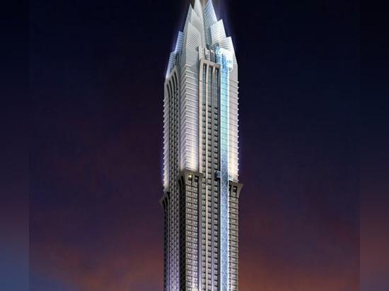 Marina 101, UAE, by National Engineering Bureau