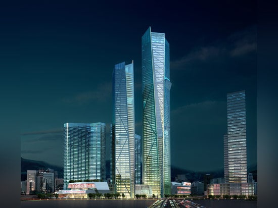 Eton Place Dalian Tower 1, China, by NBBJ