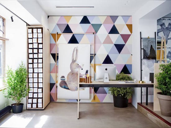 BIEN FAIT BY CECILE BOUGET BREATHES NEW LIFE INTO WALL DECORATION
