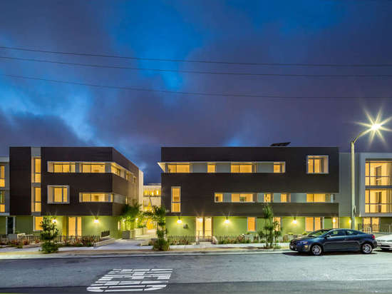 High Place Apartments by Egan | Simon Architecture, Santa Monica, CA.