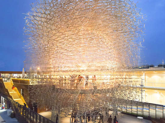 Expo-Nential Success: UK Pavilion is Crowned Best in Show at Milan EXPO 2015
