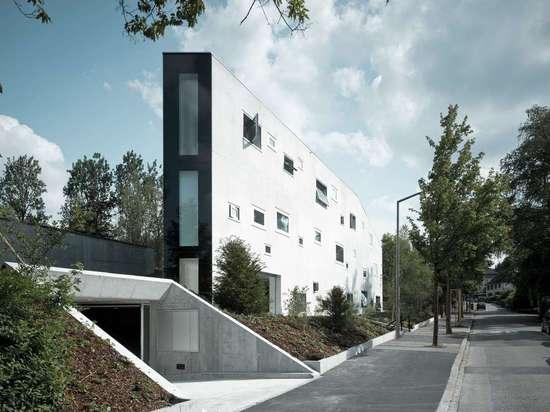 Triangle House by E2A Piet Eckert und Wim Eckert Architekten, Winterthur, Switzerland