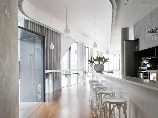 5 – 9 Roslyn St by Durbach Block Jaggers Architects, Potts Point, Australia