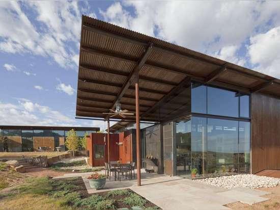 Desert House in Santa Fe by Lake|Flato Architects, Santa Fe, N.M., United States