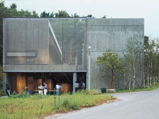 Camerata Music Space by BCHO Architects Associates, Beopheung-ri, Tanhyun-myeon, South Korea