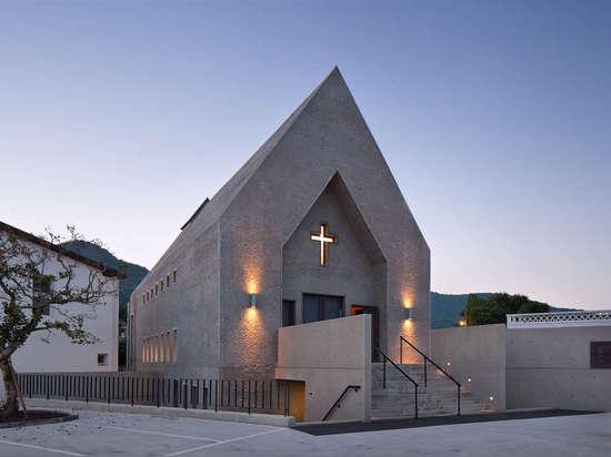 Inbo Catholic Church by Archigroup MA, Ulsan, South Korea