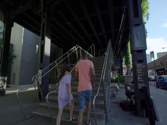 Out of the Line: The Roof Garden of the High Line, New York