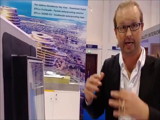 Effisus Easyrepair Membrane at Big 5 Dubai 2016 [cont.] from VirtualExpo Videos on Vimeo.