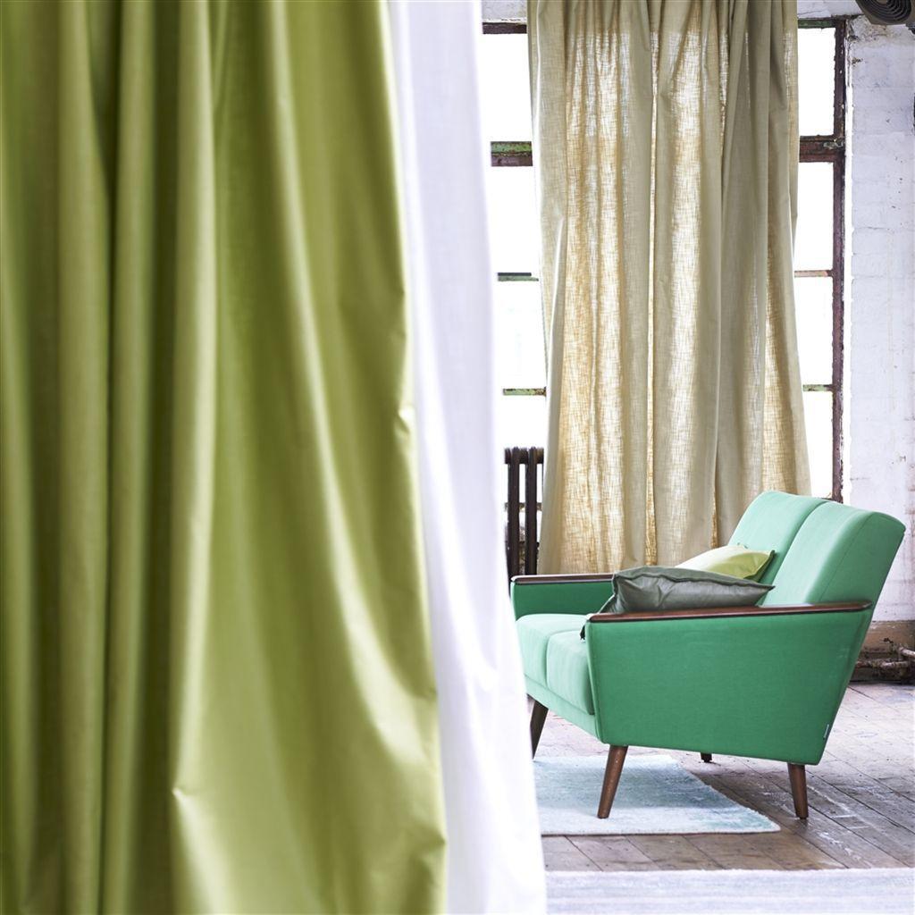 室内装飾布 / カーテン用 / 無地 / 麻製 - orba - designers guild