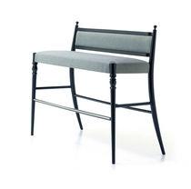 ハイ布ベンチ / クラシック / 木製 / コントラクト家具