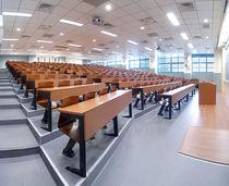 コンテンポラリーテーブルチェアセット / 木製 / スチール製 / 学校用