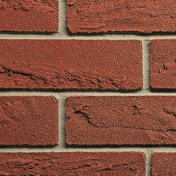 建物の正面用クラッディングレンガ / レリーフ / 赤 / 装飾