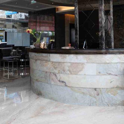 スレート製板石 / マット / 床用 / 屋内用