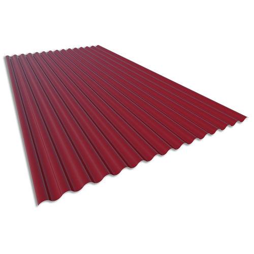 波状シ-トメタル / スチール製 / 建物の正面用 / 屋根用