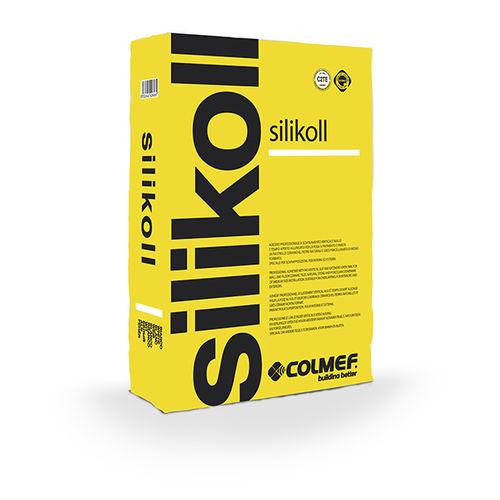 シーリングモルタル接着剤 / タイル用 / 油圧式 / セメント