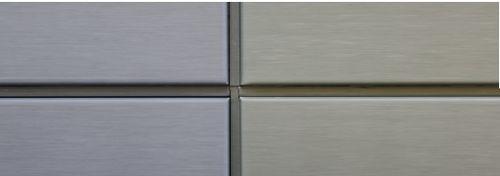 亜鉛製ベンチレーテッドファサード