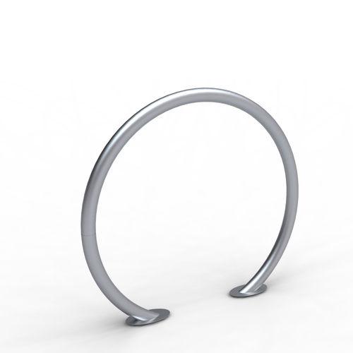 亜鉛めっき鋼製自転車ラック / ステンレススチール製 / オリジナルデザイン / 公共スペース用