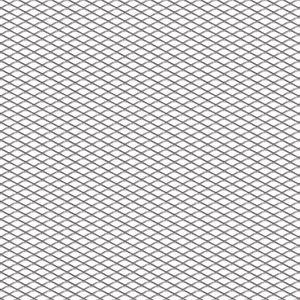 屋内用ワイヤーメッシュ / スチール製 / エキスパンド / ダイヤモンドメッシュ