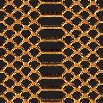 穴あきシ-トメタル / 装飾 / アルミニウム製 / ステンレス鋼