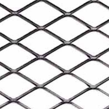 エキスパンドメタルシ-トメタル / スチール製 / 外壁 / 菱形パンチ