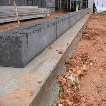フルコンクリートブロック / 擁壁用 / 打放し