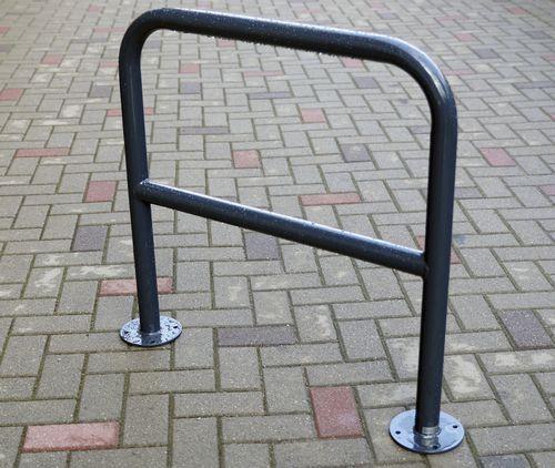 スチール製自転車ラック / 亜鉛めっき鋼製 / 亜鉛めっき鋼 / 被覆鋼粉