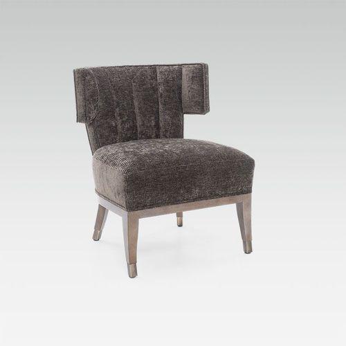 コンテンポラリー安楽椅子 / 布製 / ブナ材製 / オーダーメイド