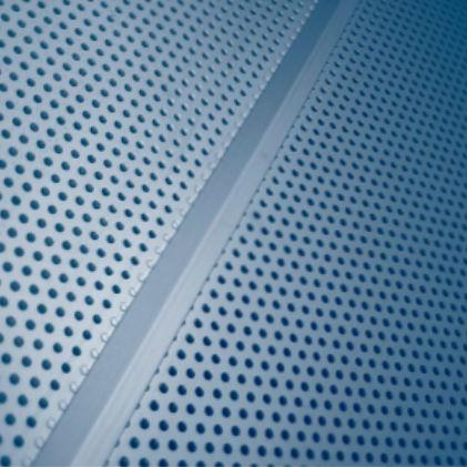 穴あきシ-トメタル / スチール製 / 外壁カバー用 / 日射遮蔽用