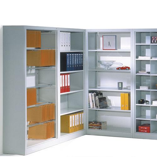 伝統的棚 / スチール製 / オフィス用 / 業務用