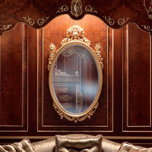 壁掛け鏡 / クラシック / 楕円形 / ホテル用