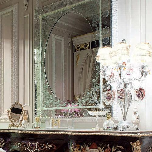 壁掛け鏡 / クラシック / 長方形 / ホテル用