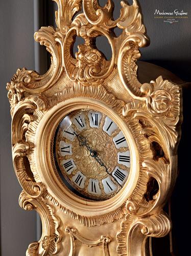 伝統的時計 / サスペンダー式 / ソリッド ウッド製 / ゴールド