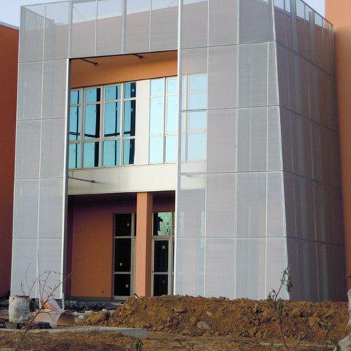 エキスパンドメタルシ-トメタル / アルミニウム製 / スチール製 / 外壁カバー用